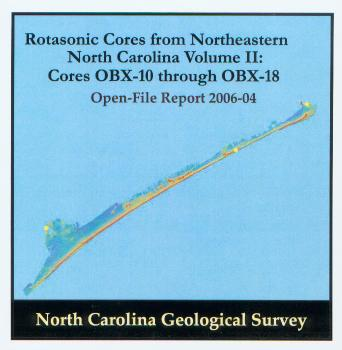 Rotasonic Cores from Northeastern North Carolina Volume II: Cores OBX-10 through OBX-18 (CD-ROM)