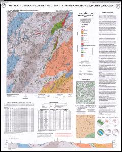 Bedrock Geologic Map of the OTEEN Quadrangle