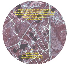 Digital karst layer and compilation of mapped karst (sinkhole) features in New Hanover and Brunswick counties