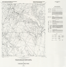 Geology of the Stancils Chapel 7.5-minute Quadrangle, Johnston, Nash, and Wilson Counties, North Carolina,by Carpenter, P.A., III, Carpenter, R.H., Speer, J.A., and Stoddard, E.F., 1994. Report plus 3 oversized plates.