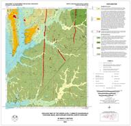 Geologic Map of theGREEN LEVEL Quadrangle