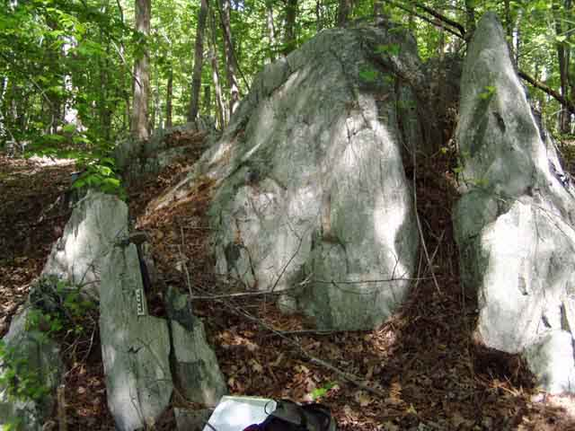 non-rippable rock