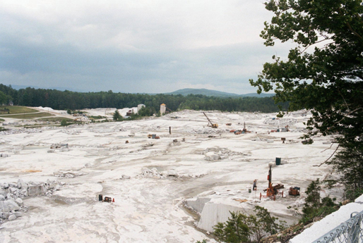 Mount Airy Granite quarry