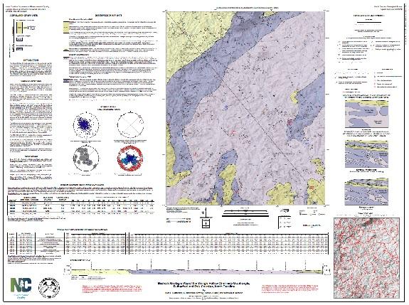 Geologic Map of the SHINGLE HOLLOWQuadrangle