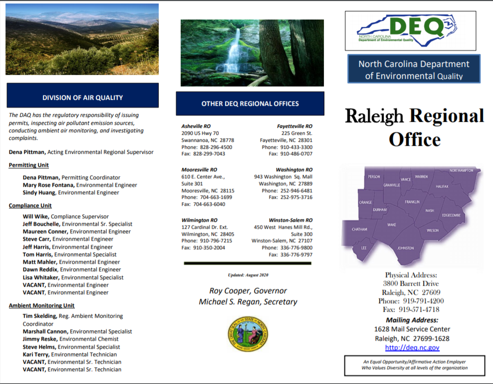 Raleigh Regional Office brochure image
