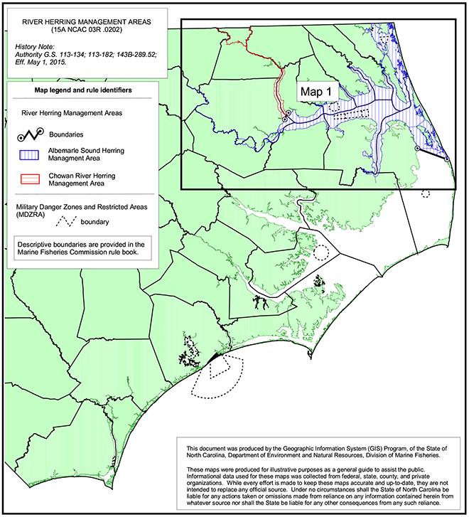 River Herring map