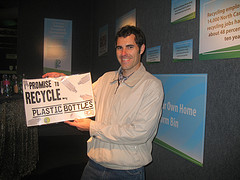 Example of a pledge to recycle