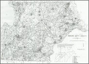 Geologic Map of REGION H (Anson, Montgomery, Moore, & Richmond Counties) (incl text) 1:125,000, by Burt, E.R., 1981.