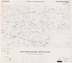 North Carolina Geological Survey Database Maps- Sheet 4: Rocky Mount 1° x 2° Quadrangle by Nickerson, J.G., and Hoffman, C.W., 1988.