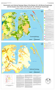 Geomorphic and Inferred Geologic Maps of the Manteo 30 x 60-Minute Quadrangle and the Eastern one-Third of the Plymouth 30 x 60-Minute Quadrangle, North Carolina