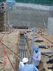 Electrical Conduit under the NRC B2 slab.