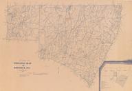 Geologic Map of REGION K (Franklin, Granville, Person, Vance, & Warren Co) including text, 1:125,000, by McDaniel, Ron, 1980.