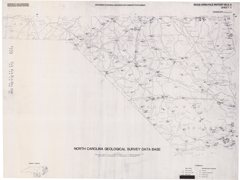 North Carolina Geological Survey Database Maps- Sheet 2: Florence 1° x 2° Quadrangle by Nickerson, J.G., and Hoffman, C.W., 1988.
