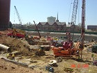 Photo illustrates how busy the site can get.