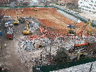 Excavation of NRC site 12/16/08 and demolition of State Employee Credit Union