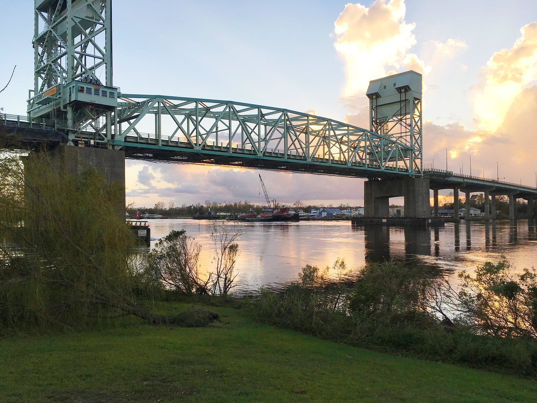 Cape Fear Memorial Bridge in Wilmington