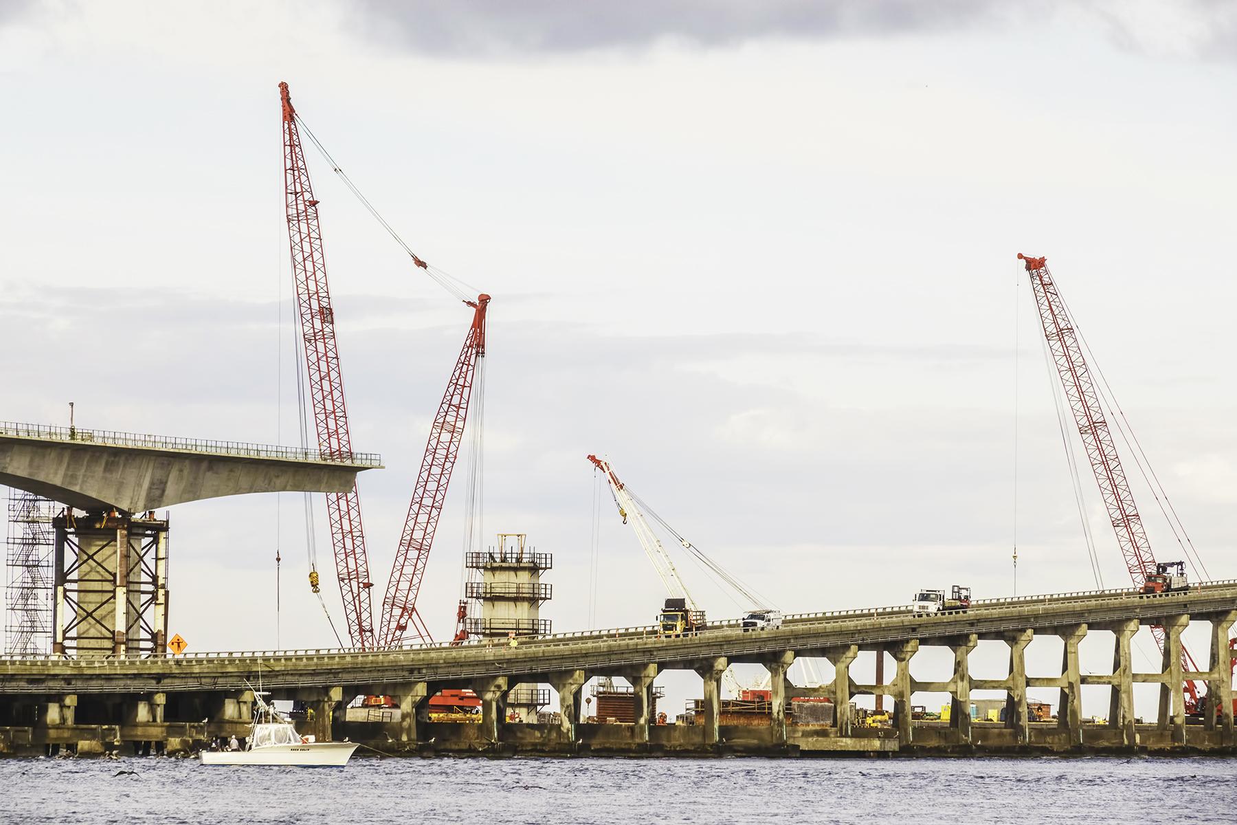 Bonner Bridge replacement at Oregon Inlet, Outer Banks