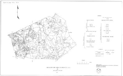 Geology of WILSON County, 1:125,000, by Wilson, W.F., 1979.
