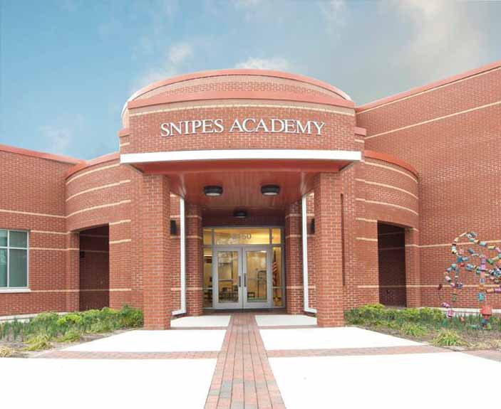 Snipes Academy Of Arts And Design Owner: New Hanover County Schools  Location: Wilmington, N.C.. Architect: SfL+A Architects Engineer: MCBH  Engineering
