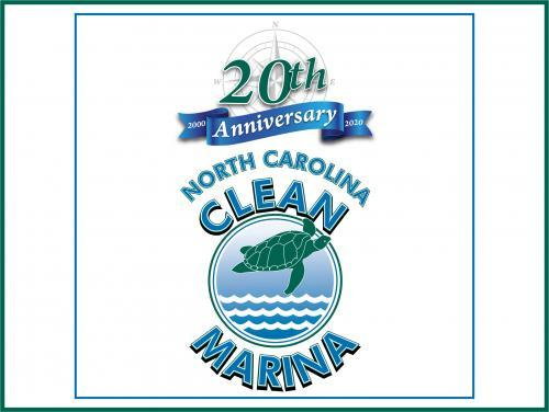 clean marina 20th anniversary logo