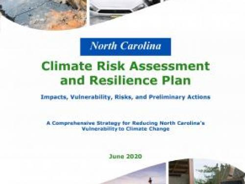 Cover of Resilience plan document