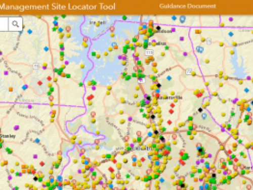 Site Locator Tool Map Overview