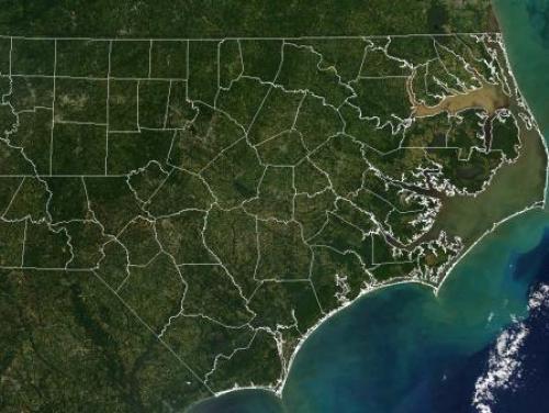 nc coast satellite