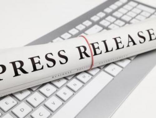 press release keyboard