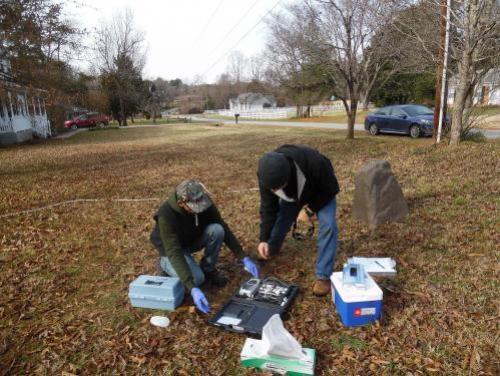 Waste Management sampling for emerging compounds