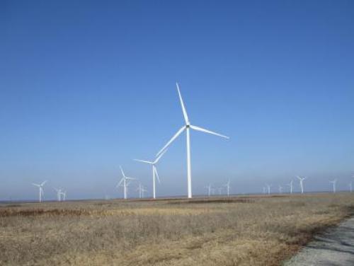 Onshore wind turbine