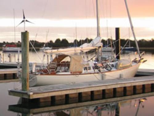 BIG Program Sailboat at Sunset