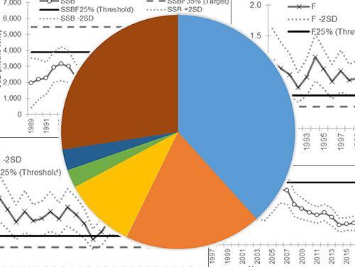 various graphs and charts