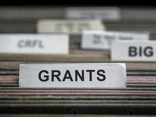 Grants Programs filing cabinet