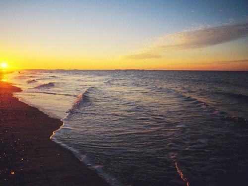 Oceanfront shoreline