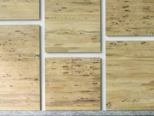 Salvaged Pecan Wood Walls in the DEQ Building
