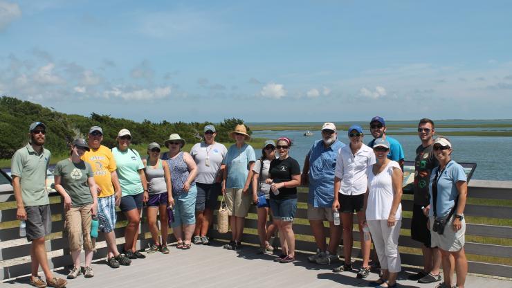 TOTE Group on Boardwalk