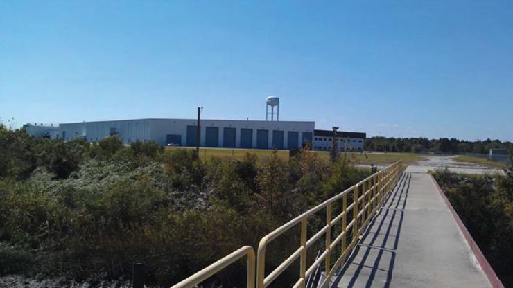 Site of Pacon Manufacturing in Navassa