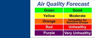 DEQ's Air Quality Forecast