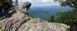 Scenic view of Blowing Rock