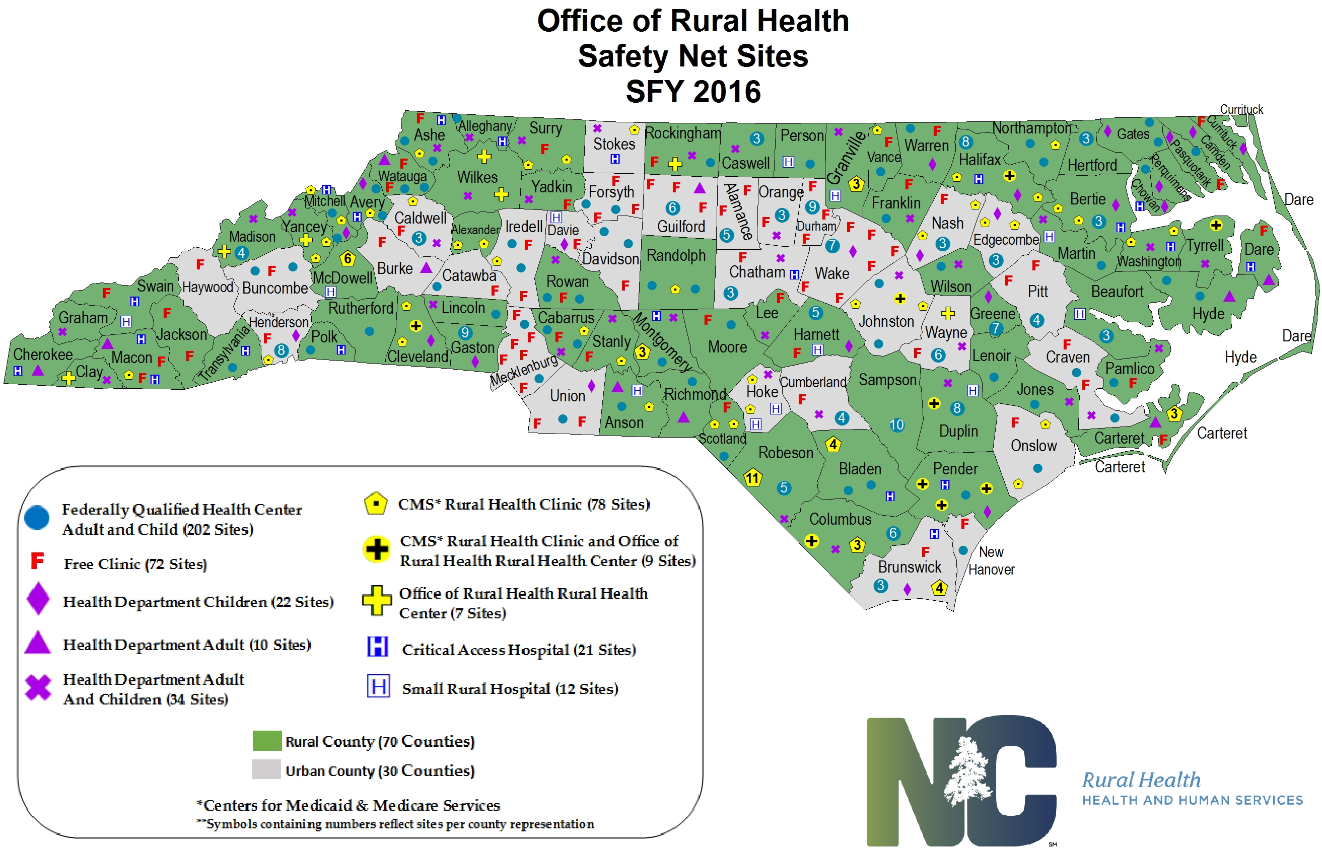 Health Statistics And Data NC Department Of Health And Human - Health statistics us map