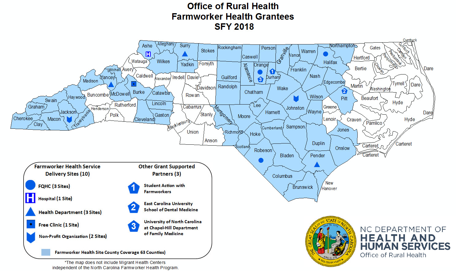 NCDHHS: North Carolina Farmworker Health Program on