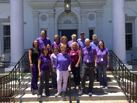 Black Mountain Neuro-Medical Treatment Center employees on World Elder Abuse Awareness Day.