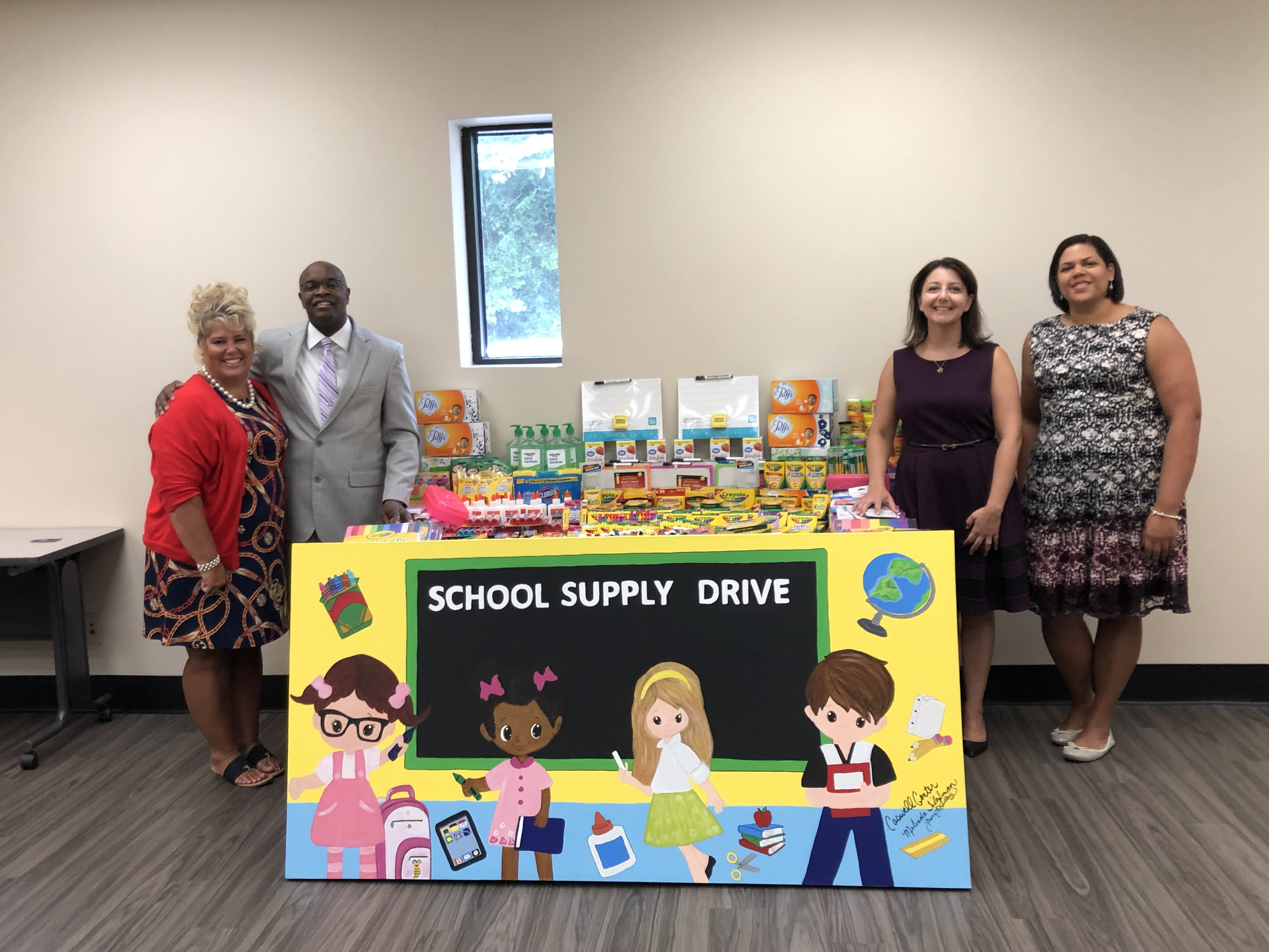 NCDHHS: Secretary Delivered School Supplies to Lenoir County