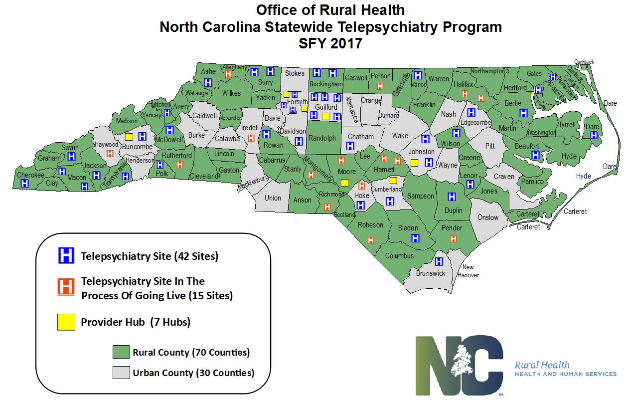 Ncdhhs Statewide Telepsychiatry Program