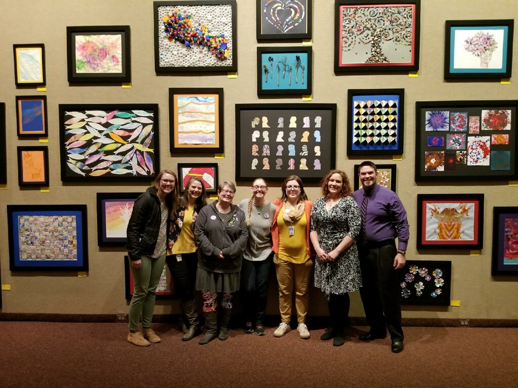 Ncdhhs Artwork From Riddle Center Residents Shines