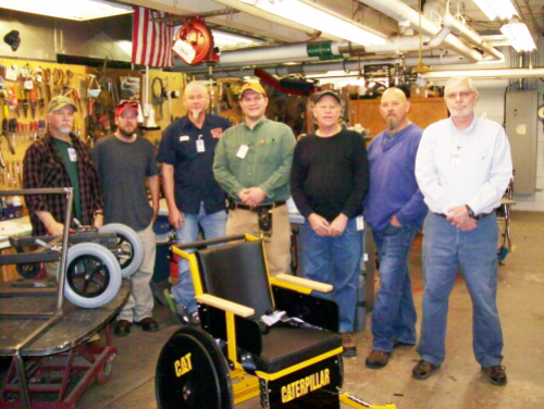 DHHS Team Builds Wheelchairs and Other Adaptive Equipment