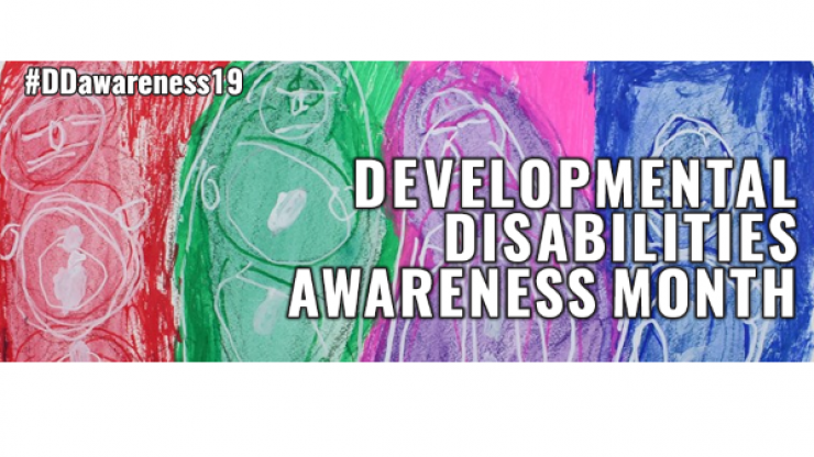 Development Disabilities Awareness Month graphic