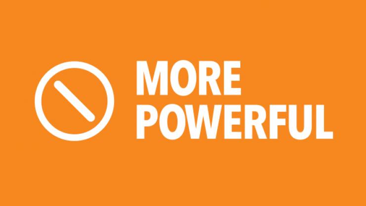 More powerful logo