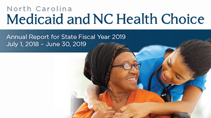 Report Shows Impact of NC Medicaid graphic