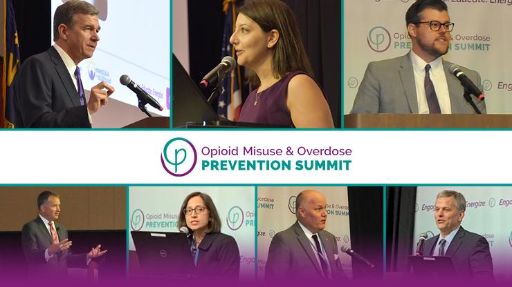 leadership speaking at opioid summit